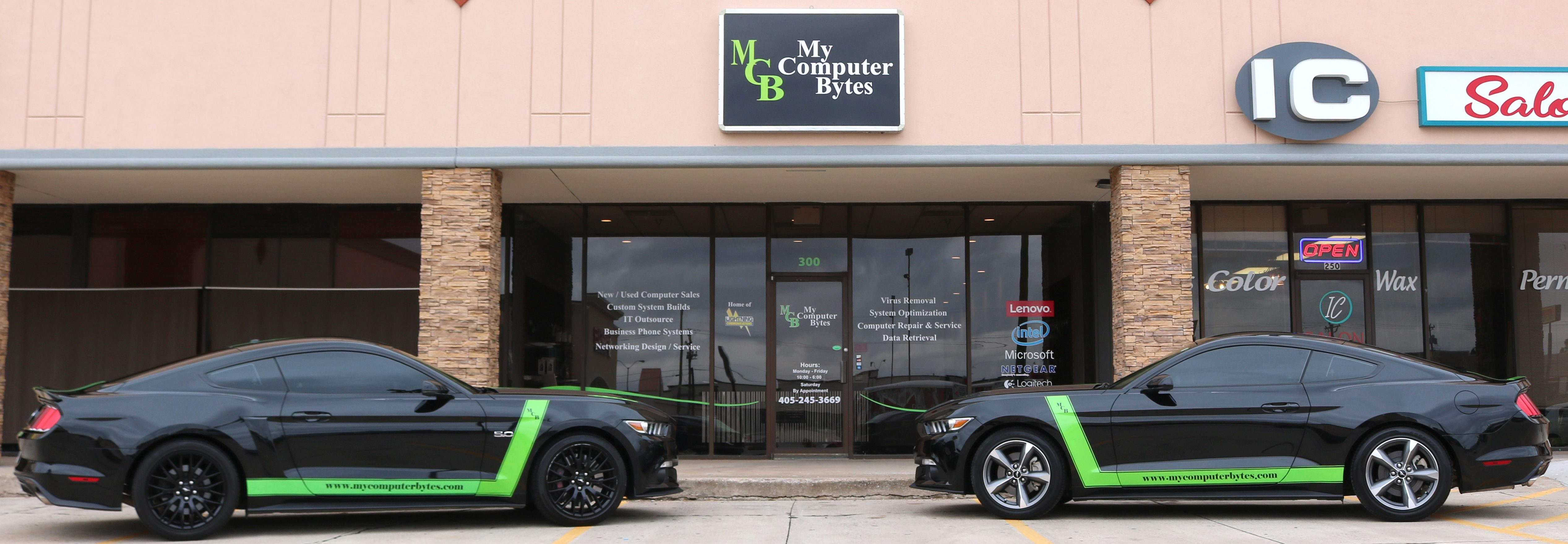 My Computer Bytes - OKC Computer Repair & IT Services